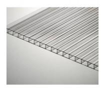 Сотовый прозрачный поликарбонат (Премиум) 10 мм лист 6м.х2,1м(12,6 м2)