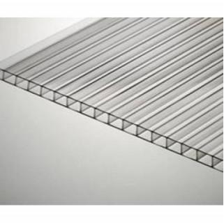 Сотовый прозрачный поликарбонат (Стандарт) 16 мм лист 6м.х2,1м(12,6 м2)