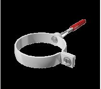 ПВХ хомут трубы Технониколь универсальный L=140мм, белый