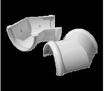 ПВХ угол желоба Технониколь 135°, белый