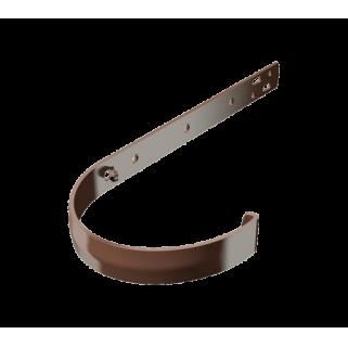 ПВХ кронштейн желоба металлический, коричневый, шт.