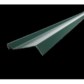Планка примыкания PVC RAL 6007, зеленая, шт.