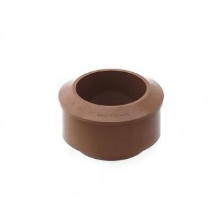 Переходник 110 на 90 мм (коричневый)
