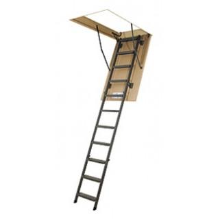 Складные металлические чердачные лестницы LMS