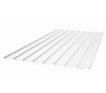 Профилированный прозрачный поликарбонат 0,8 мм 2м.х1,15м(2,3м2)