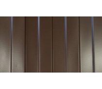 Профнастил ПС-8 8017 текстурный с узором (готовые листы)